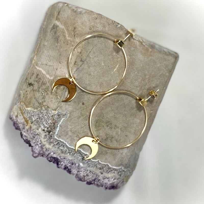 M.E.A. DESIGNS - CRESCENT HOOPS