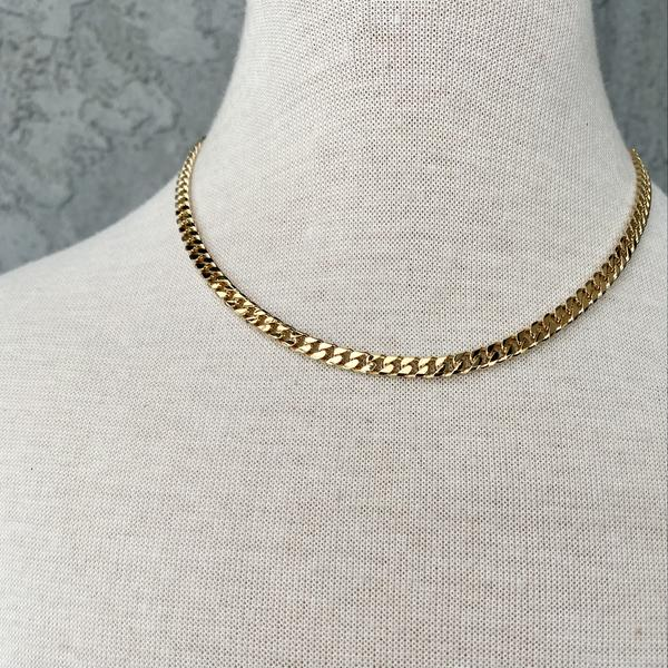 SAND + GRIT - THE ITALIAN CURB NECKLACE