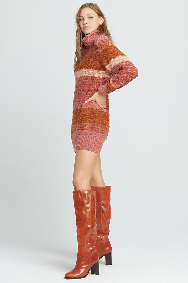 L*SPACE - JETSETTER SWEATER DRESS
