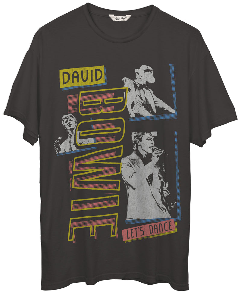 JUNK FOOD CLOTHING - BOWIE LET'S DANCE TEE