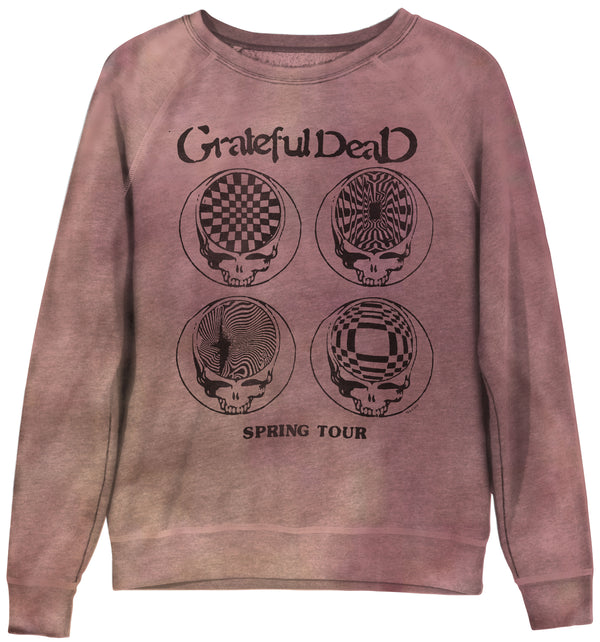 JUNK FOOD CLOTHING - GRATEFUL DEAD SPRING TOUR PULLOVER