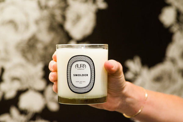 AURA CANDLES - SMOLDER EVERYDAY CANDLE