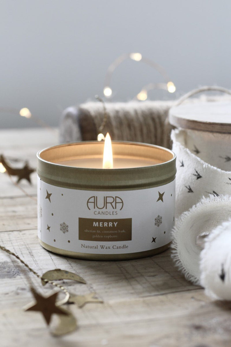 AURA CANDALS - MERRY TRAVEL CANDLE