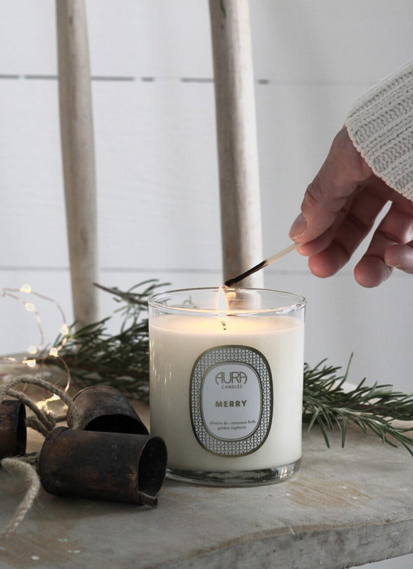 AURA CANDALS - MERRY EVERYDAY CANDLE