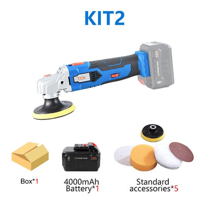 Power Tool Li-ion battery Polisher