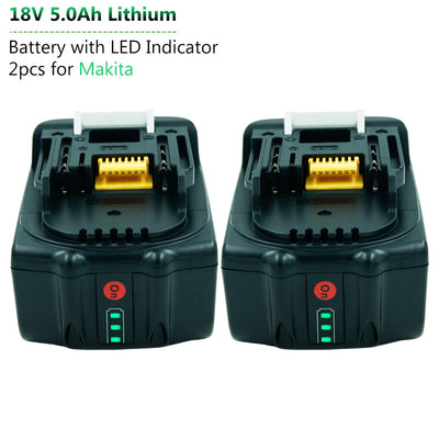 Battery with LED Indicator