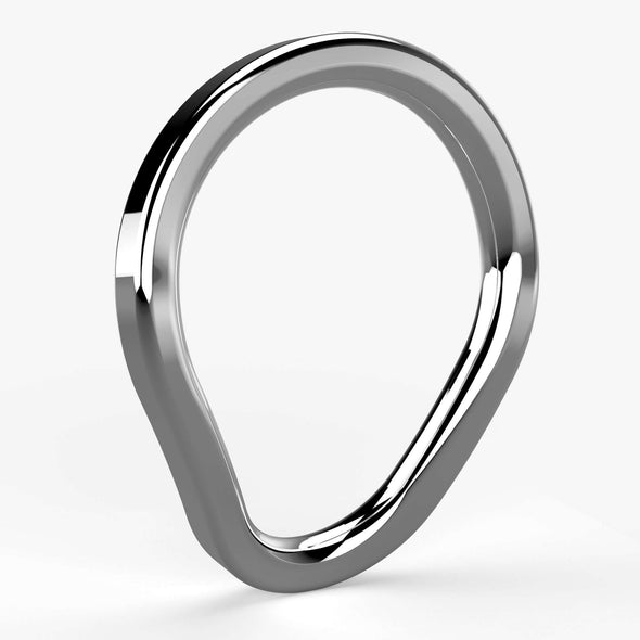 NEW! Primal:Spark Cock Ring in Stainless Steel