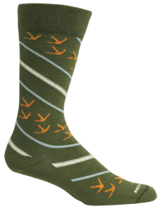 Brown Dog Hosiery Socks - Turkey Tracks