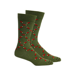 Brown Dog Hosiery Socks - Shotgun Shells