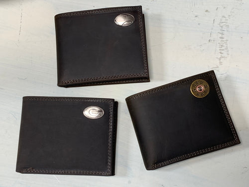 Zep-Pro Men's Leather Bi-fold Wallet