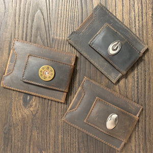 Zep-Pro Men's Leather Front Pocket Wallet