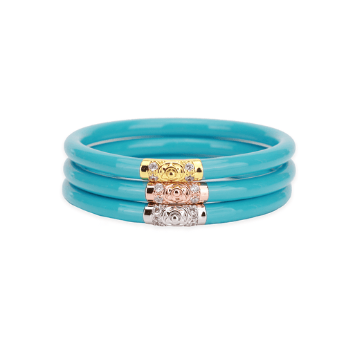 BuDhaGirl All Weather Bangles - Turquoise