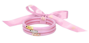 BuDhaGirl All Weather Bangles - Pink