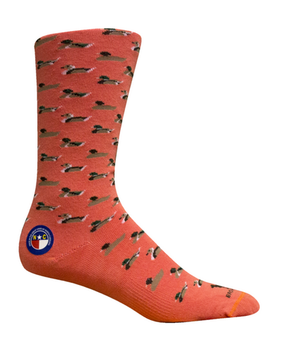 Brown Dog Hosiery Socks - Mallards