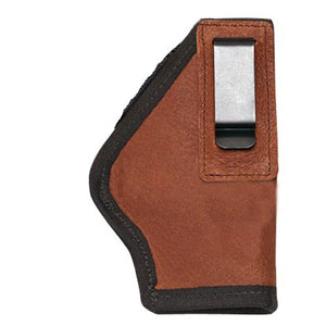 Inside the Pants Holster Leather, H&K USP 9mm/.40 Cal-Ruger 85/89/93, Sig Sauer, Glock