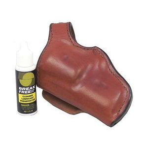 55L Lightnin' Holster Plain Tan, Size 01, Left Hand