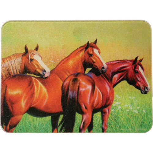 Cutting Board Three Horse