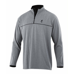 Highline 1/4 Zip Shirt, Grey Small