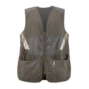 Men's Summit Shooting Vest Green/Dark Gray, Medium