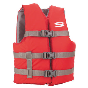 Youth Classic Boating PFD Red