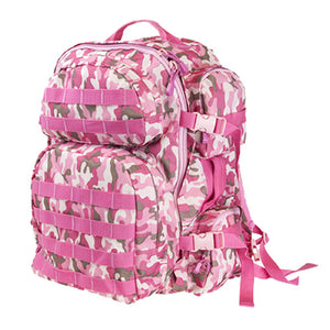 Tactical Backpack Pink Camo