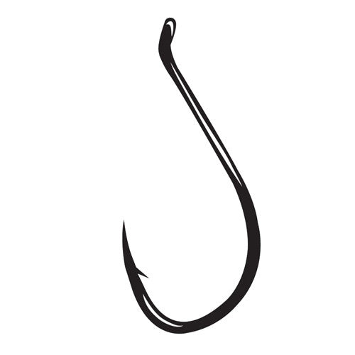 Octopus Hook Size 6/0, NS Black, Per 6