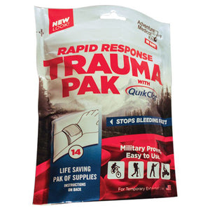 Rapid Response Trauma Pack with QuikClot