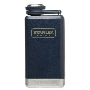 Adventure Stainless Steel Flask, 5 oz Navy