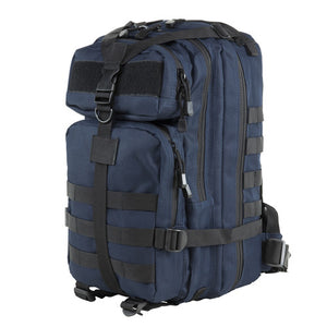 Small Backpack Blue w/Black Trim