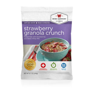 Dessert Dish Strawberry Granola Crunch, 4 Servings