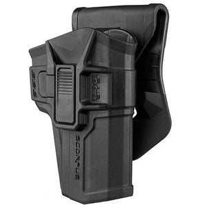 Scorpus Paddle/Belt Holster Sig Sauer 226, Level II, Black, Right Hand