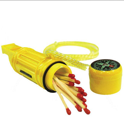5-in-1 Survival Tool Marine, Yellow