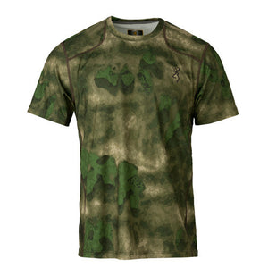 Hell's Canyon Speed Plexus Mesh Shirt Short Sleeve, ATACS Foliage/Green, Small