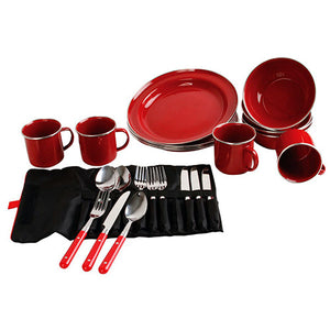 24 Piece Rugged Dishware, Family Set