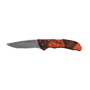 "Bantam 3 5/8"" Plain Satin Blade, Mossy Oak Blaze Handle, Clam Package"