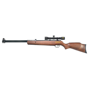 .177/.22 Caliber, 2 Shot, 4x32mm Scope, Wood Stock/Matte