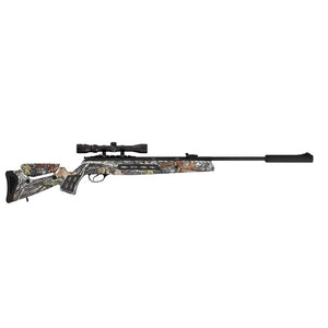 "Model 125 Sniper Vortex Quiet Energy Break Barrel Air Rifle .25 Caliber 19.60"" Barrel, Single Shot, Synthetic Camouflage Stock with 3-9x32mm"