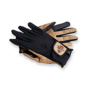 Mesh Back Shooting Gloves Tan/Black, X-Large