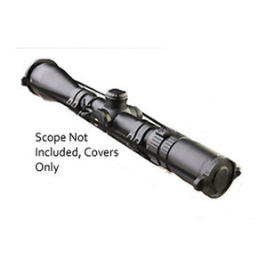 Quick-Detach Scope Cover Set Large Eye Piece, Small Objective