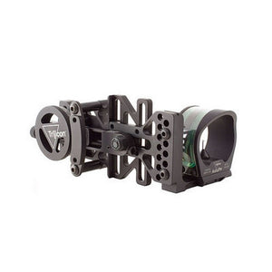 AccuPin Bow Sight Green Reticle, Right Hand, Black