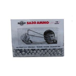"Steel Ball Slingshot Ammo 5/16"", 120 Count"