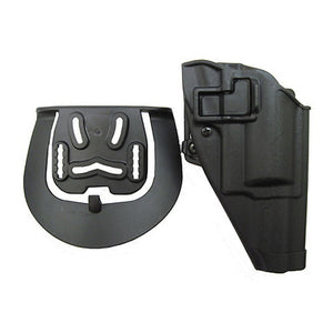 Serpa CQC, Belt & Paddle Holster, Plain Matte Black Finish Taurus Judge, Right Hand
