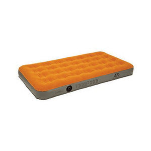 Air Bed Rechargeable, Twin, Rust/Khaki 39x74x8.5""