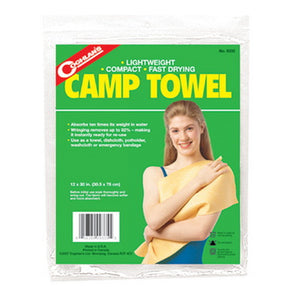 "Camp Towel  30"" x 12"""