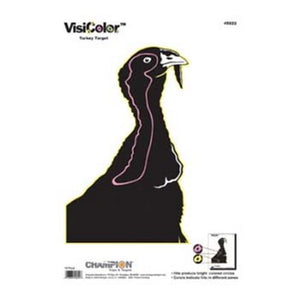 Visicolor Targets Turkey (10 Pack)