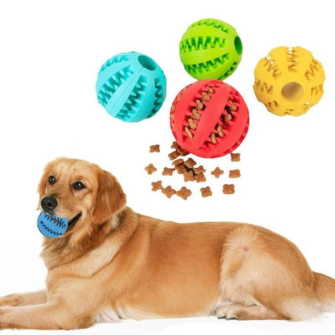 PET RUBBER TOY BALL