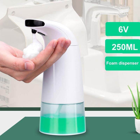 TOUCHLESS FOAM SOAP DISPENSER