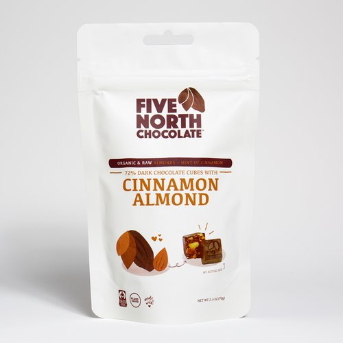 Cinnamon Almond Dark Chocolate - 3 Pack
