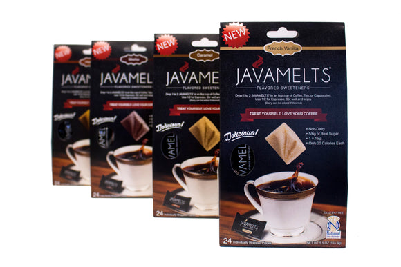 JAVAMELTS' Assorted Four Pack