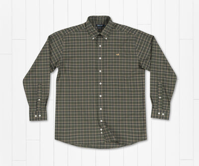 Southern Marsh Bristol Performance Plaid Dress Shirt